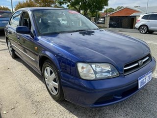 2000 Subaru Liberty MY00 GX (AWD) Blue 4 Speed Automatic Wagon