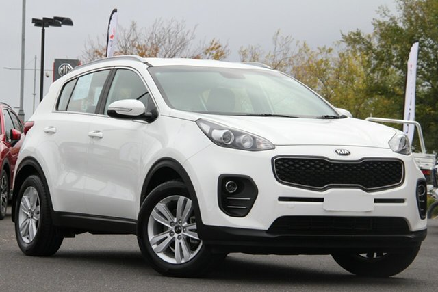 Used Kia Sportage QL MY17 Si 2WD Essendon North, 2017 Kia Sportage QL MY17 Si 2WD White 6 Speed Sports Automatic Wagon