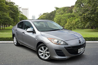 2010 Mazda 3 BL10F1 Neo Activematic Billet Silver 5 Speed Sports Automatic Sedan.