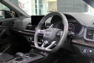 2019 Audi SQ5 FY MY19 Black Edition Tiptronic Quattro White 8 Speed Sports Automatic Wagon.