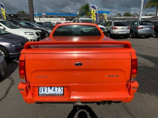 2004 Ford Falcon BA MkII XR6 Orange 4 Speed Auto Seq Sportshift Utility