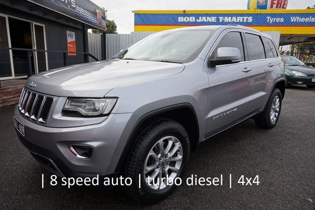 Used Jeep Grand Cherokee WK MY2014 Laredo Dandenong, 2013 Jeep Grand Cherokee WK MY2014 Laredo Maximum Steel 8 Speed Sports Automatic Wagon