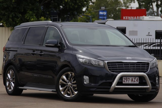 Used Kia Carnival YP MY16 SLi Bundamba, 2015 Kia Carnival YP MY16 SLi Gravity Blue 6 Speed Sports Automatic Wagon