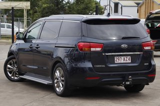 2015 Kia Carnival YP MY16 SLi Gravity Blue 6 Speed Sports Automatic Wagon.
