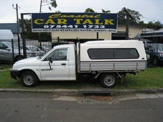 2004 Mitsubishi Triton MK MY05 GL White 5 Speed Manual Cab Chassis.