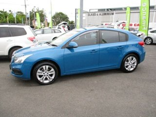 2015 Holden Cruze EQUIPE Blue 4 Speed Automatic Hatchback
