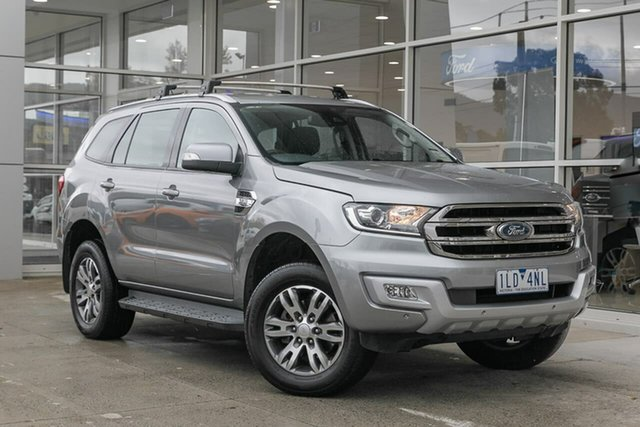 Used Ford Everest UA Trend Ferntree Gully, 2017 Ford Everest UA Trend Silver 6 Speed Sports Automatic SUV