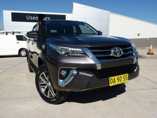 2017 Toyota Fortuner GUN156R Crusade Grey 6 Speed Automatic Wagon.