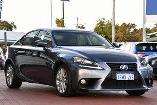 2013 Lexus IS GSE30R IS250 Luxury Grey 6 Speed Sports Automatic Sedan