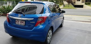 2015 Toyota Yaris NCP130R MY15 Ascent Blue 4 Speed Automatic Hatchback