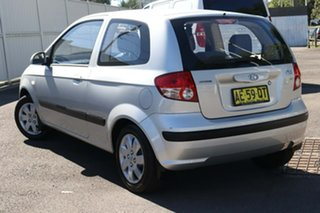 2005 Hyundai Getz TB MY05 GL Silver 4 Speed Automatic Hatchback.