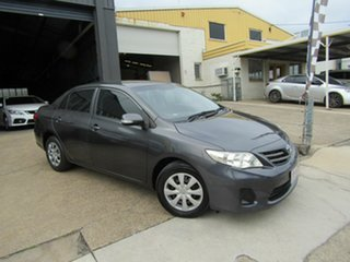 2012 Toyota Corolla ZRE152R MY11 Ascent Grey 4 Speed Automatic Sedan.