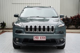 2014 Jeep Cherokee KL Longitude Grey 9 Speed Sports Automatic Wagon.