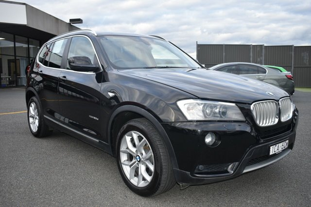 Used BMW X3 F25 MY1213 xDrive30d Steptronic Wantirna South, 2014 BMW X3 F25 MY1213 xDrive30d Steptronic Black 8 Speed Automatic Wagon