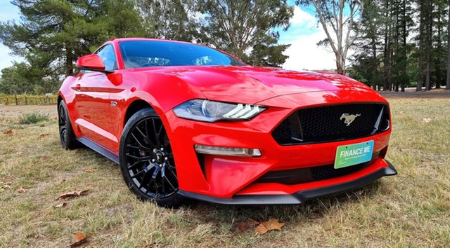 Used Ford Mustang FN 2018MY GT Fastback SelectShift Nuriootpa, 2018 Ford Mustang FN 2018MY GT Fastback SelectShift Red 10 Speed Sports Automatic Fastback