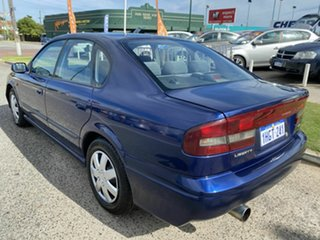 2000 Subaru Liberty MY00 GX (AWD) Blue 4 Speed Automatic Wagon.