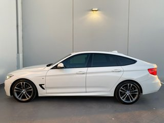 2016 BMW 3 Series F34 320i Gran Turismo M Sport White 8 Speed Sports Automatic Hatchback
