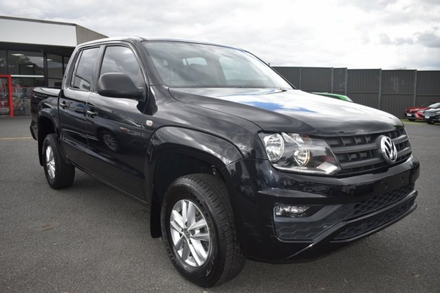 Used Volkswagen Amarok 2H MY17 TDI420 4MOTION Perm Core Wantirna South, 2016 Volkswagen Amarok 2H MY17 TDI420 4MOTION Perm Core Black 8 Speed Automatic Utility