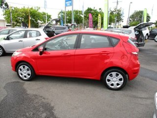 2012 Ford Fiesta Red 5 Speed Manual Hatchback