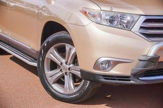 2013 Toyota Kluger GSU45R MY12 KX-S AWD Beige 5 Speed Sports Automatic Wagon.