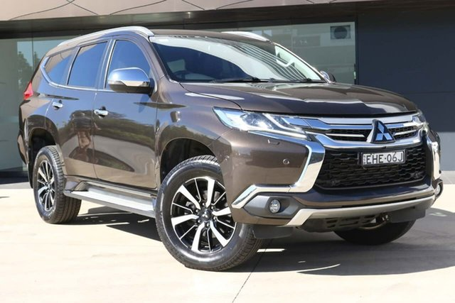 Used Mitsubishi Pajero Sport QE MY16 Exceed North Gosford, 2015 Mitsubishi Pajero Sport QE MY16 Exceed Bronze 8 Speed Sports Automatic Wagon