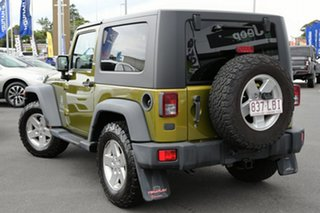 2008 Jeep Wrangler JK Sport Yellow 4 Speed Automatic Softtop.