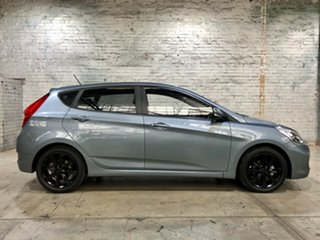 2017 Hyundai Accent RB5 MY17 Sport Grey 6 Speed Sports Automatic Hatchback