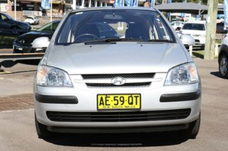 2005 Hyundai Getz TB MY05 GL Silver 4 Speed Automatic Hatchback