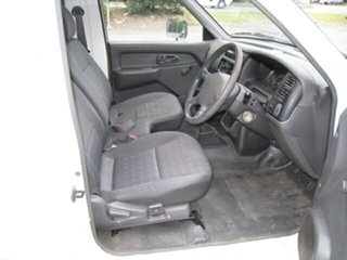 2004 Mitsubishi Triton MK MY05 GL White 5 Speed Manual Cab Chassis
