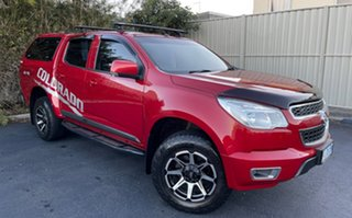 2016 Holden Colorado RG MY16 LT Crew Cab 4x2 Red/4bc 6 Speed Manual Utility.