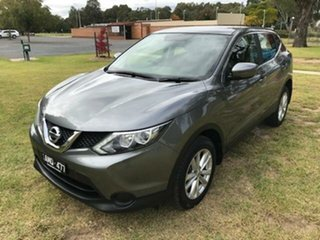 2017 Nissan Qashqai J11 ST Grey Continuous Variable Wagon.