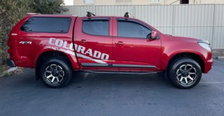 2016 Holden Colorado RG MY16 LT Crew Cab 4x2 Red/4bc 6 Speed Manual Utility