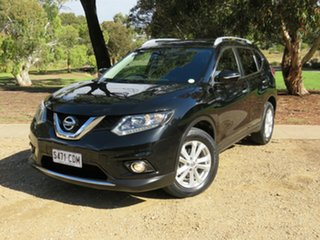 2016 Nissan X-Trail T32 ST-L X-tronic 4WD Black 7 Speed Constant Variable Wagon.