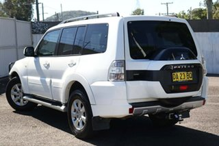 2014 Mitsubishi Pajero NX MY15 GLX White 5 Speed Sports Automatic Wagon.