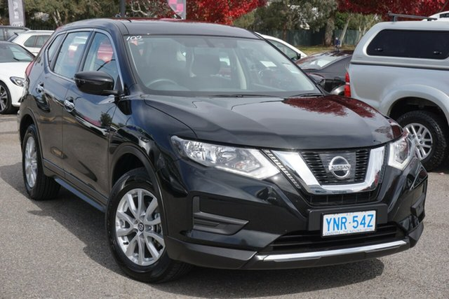 Used Nissan X-Trail T32 Series II ST X-tronic 4WD Phillip, 2019 Nissan X-Trail T32 Series II ST X-tronic 4WD Diamond Black 7 Speed Constant Variable Wagon