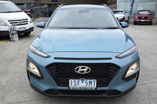 2020 Hyundai Kona OS.3 MY20 Active 2WD Blue 6 Speed Sports Automatic Wagon.