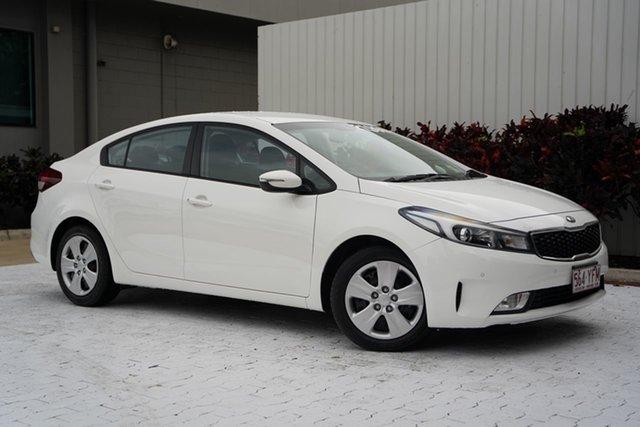 Used Kia Cerato YD MY18 S Cairns, 2017 Kia Cerato YD MY18 S White 6 Speed Sports Automatic Sedan