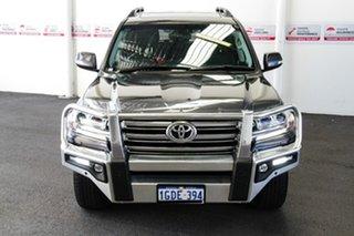 2016 Toyota Landcruiser VDJ200R MY16 VX (4x4) Graphite 6 Speed Automatic Wagon.