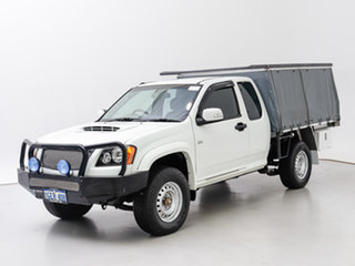 2011 Holden Colorado RC MY11 LX (4x4) White 5 Speed Manual Space Cab Chassis.