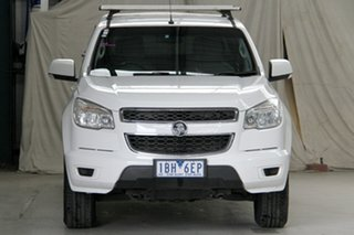 2014 Holden Colorado RG MY15 LS (4x2) Summit White 6 Speed Automatic Crew Cab Pickup