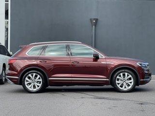 2020 Volkswagen Touareg CR MY21 210TDI Tiptronic 4MOTION Elegance Red 8 Speed Sports Automatic Wagon.