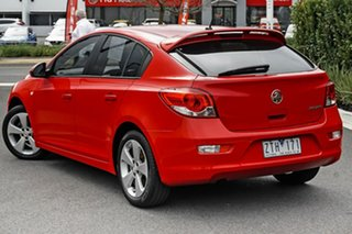 2013 Holden Cruze JH Series II MY13 CD Red 6 Speed Sports Automatic Hatchback.