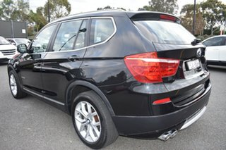 2014 BMW X3 F25 MY1213 xDrive30d Steptronic Black 8 Speed Automatic Wagon.