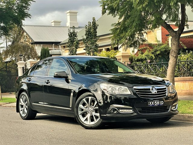 Used Holden Calais VF MY14 Hyde Park, 2013 Holden Calais VF MY14 Black 6 Speed Sports Automatic Sedan