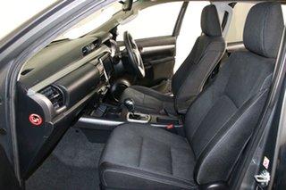 2016 Toyota Hilux GUN126R SR5 (4x4) Graphite 6 Speed Automatic Dual Cab Utility