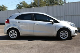 2014 Kia Rio UB MY14 S Silver 4 Speed Sports Automatic Hatchback