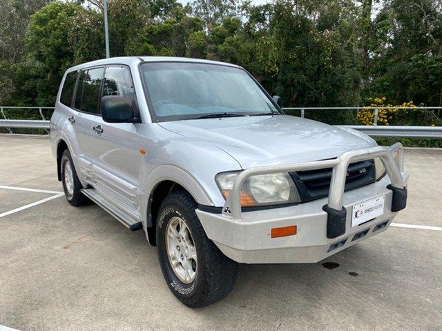 Used Mitsubishi Pajero NM GLX LWB (4x4) Morayfield, 2000 Mitsubishi Pajero NM GLX LWB (4x4) Silver 5 Speed Auto Sports Mode Wagon