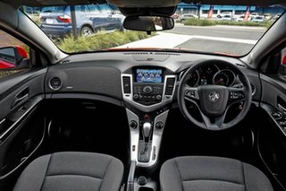 2013 Holden Cruze JH Series II MY13 CD Red 6 Speed Sports Automatic Hatchback