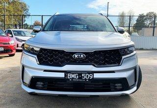 2021 Kia Sorento MQ4 MY21 GT-Line Silky Silver 8 Speed Sports Automatic Wagon.