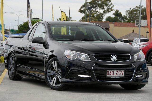 Used Holden Ute VF MY14 SV6 Ute Aspley, 2014 Holden Ute VF MY14 SV6 Ute Black 6 Speed Manual Utility